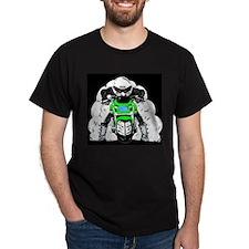 ZRX Burn Out Green T-Shirt