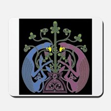 Griffins with Celtic Tree of Life Mousepad
