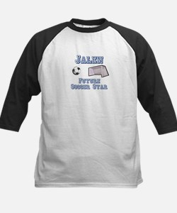 Jalen - Future Soccer Star Kids Baseball Jersey