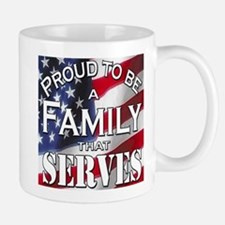"""Proud Family that Serves"" Mug"