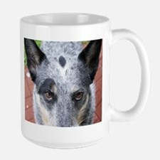 The Stare Down - coffee mug