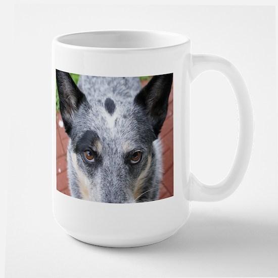 The Stare Down - coffee mug