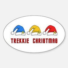 Trekkie Christmas Decal