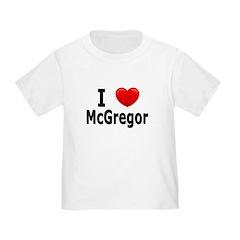 I Love McGregor T