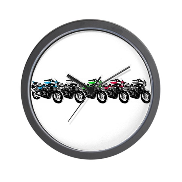 Zrx Colors Wall Clock By Zrx Owners