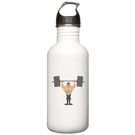 Bodybuilding Stainless Water Bottle 1.0L