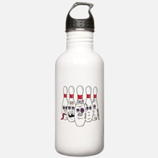 Funny Pins Water Bottle