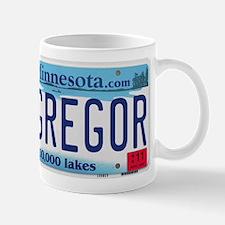 McGregor License Plate Mug