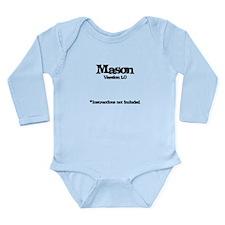 Mason Version 1.0 Long Sleeve Infant Bodysuit