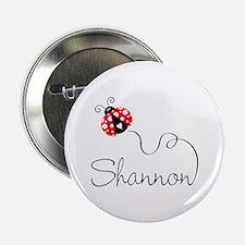 "Ladybug Shannon 2.25"" Button"