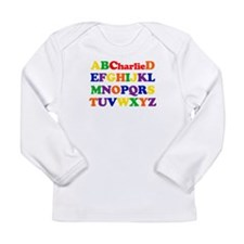 Charlie - Alphabet Long Sleeve Infant T-Shirt