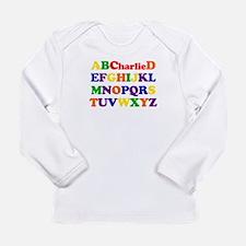 Charlie - Alphabet Long Sleeve Infant T-Shirt