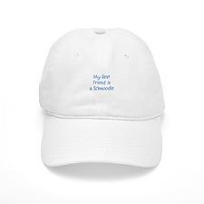 My Best Friend is a Schnoodle Baseball Cap