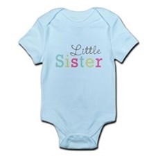 Little Sis Polka Dot Infant Bodysuit