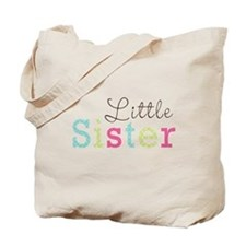Little Sis Polka Dot Tote Bag