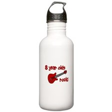 8 year olds Rock! Water Bottle