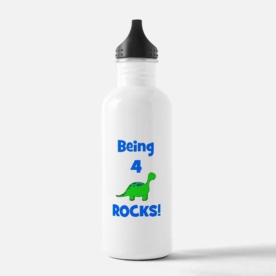 Being 4 Rocks! Dinosaur Sports Water Bottle