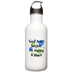 Twos Aren't Terrible Water Bottle
