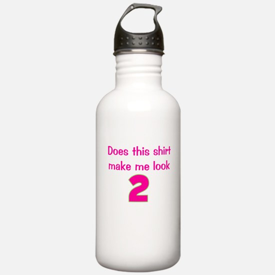 Shirt Make Me Look 2 Water Bottle
