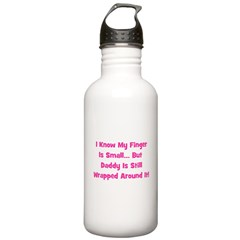 Daddy Wrapped Around Finger Water Bottle