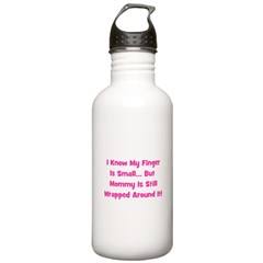 Mommy Wrapped Around Finger Water Bottle
