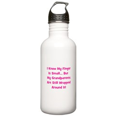 Grandparents Wrapped Around F Water Bottle