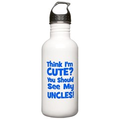 Think I'm Cute? UncleS (Plura Water Bottle