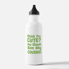 Think I'm Cute? CousinS (Plur Water Bottle
