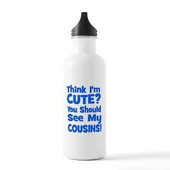 Think I'm Cute? CousinS {Plur Water Bottle
