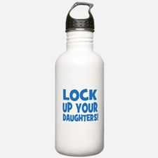 Lock Up Your Daughters! Water Bottle