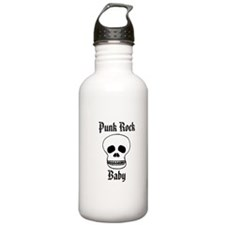 Punk Rock Baby - Skull Water Bottle