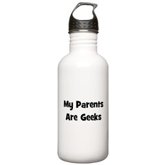 My Parents Are Geeks! Water Bottle