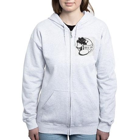 High and Dry Women's Zip Hoodie