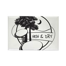 High and Dry Rectangle Magnet (100 pack)