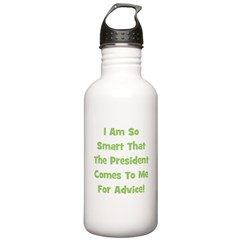 Presidential Advice - Green Water Bottle