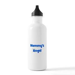 Mommy's Angel - Blue Water Bottle