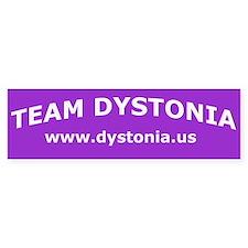 TeamDystonia Bumper Bumper Sticker