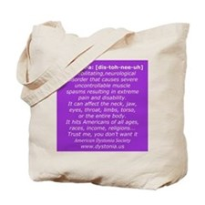 Dystonia Tote Bag