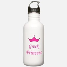 Greek Princess with Crown Water Bottle
