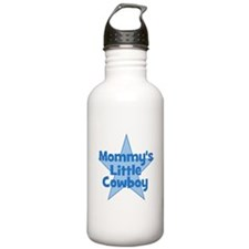 Mommy's Little Cowboy Water Bottle