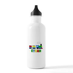Train - ETHAN Personalized Cu Water Bottle