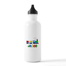 Train - JACOB Personalized Cu Water Bottle