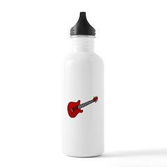 Guitar (Musical Instrument) D Water Bottle
