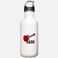 Guitar - Cash Sports Water Bottle
