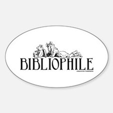 Bibliophile: Little Girl Read Decal