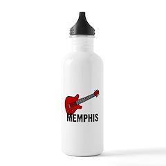Guitar - Memphis Water Bottle