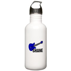 Guitar - Shane - Blue Water Bottle