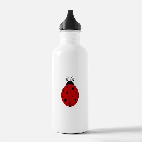 Ladybug - Personalized with Water Bottle