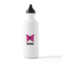 Butterfly - Anna Water Bottle