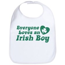 Everyone loves an Irish Boy Bib